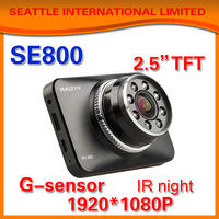Hot! Car DVR 1080P Full HD Motion Detection Night Vision Wide Angle HDMI 12M Camera 2.5 LCD wdr night vision touch screen