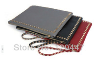 2013 new fashion brand flat package special punk rivet envelope iPad bag Wristlet clutch BNB handbag christmas gift whole sale