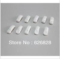 500pcs model plastic mini white  car scale 1/300 for layout train