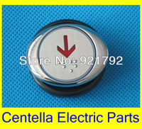 AK-26B Stainless LED Elevator Button For LG Elevator / Braille Elevator Button