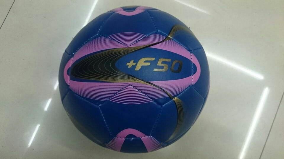 Free shipping 26 panels f50 PVC Soccer Balls Size 5,2013 Machine Sewing promotion soccer ball,good quanlity football(China (Mainland))