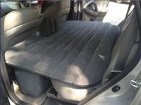 Car inflatable travel bed car bed mattress.  inflated car bed with air pump. more thicker material,