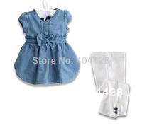 270# Free shipment fashion girl's summer clothing set wholesales 5sets/lot