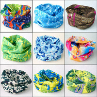 Wholesale 10pcs/lot   Multifunctional neckerchief outdoor bandana hairnode free shipping Number 21-40
