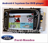 Pure Android4.1.1 car pc for Ford Mondeo.8inch,Capacitive screen1024p,Cpu:MST786, A9 Dual Core1.2Ghz,3D,TV.PIP,3G.WIFI.BLUETOOTH