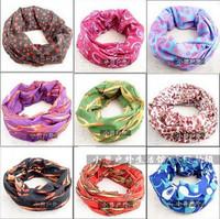 Wholesale 12pcs/lot  ($1.74/piece) Retail packaging Multifunctional headwear pirate bandana hairnode free shipping Number 61-80