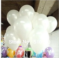 100pc 1.2g 10inch White Latex Helium Balloon Pearl Balloon Party  Wedding Birthday Decoration Kids Gift Toy Hot sale