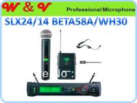 Free Shipping pro Wireless karaoke microphone System headphone + Lapel + handheld Senior version Microfones Microfonos mikrofon