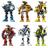 Factory price authentic assembled Robot toy building blocks child educational toy kids gift Robot Hero Factory,free shipping