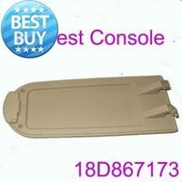 Car Armrest OEM Beige Leather Center Console Lid/Cover Fits Vw Golf Jetta MK4 PART NO.18D867173