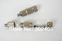 High powered With filter Brass fogging nozzle. Mist cooling fitting. brass nozzle with electroplate . Free Shipping