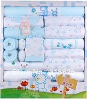 High Quality!  Top Selling 0-12M Baby Gift set 20 piece /Cotton Baby Suit/Kids Clothes/100% Cotton Underwar/Infant suit 3 Colors