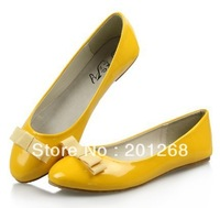 Women's New Casual Flat Ballet Shoes with bowtie women's flats women's ballerina shoes