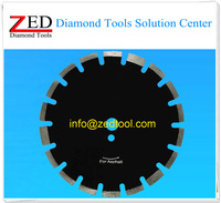 Hot Sale 350mm Diamond Saw Blade for Asphalt with Protection Segments