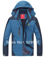 Free Shipping NEW men Outdoor Climbing clothes fashion two-piece coat ski suit Men's sports jacket winter jacket