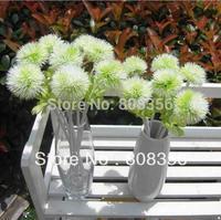 "10Pcs 33cm/12.99"" Length Artificial Simulation Dandelion Hydrangea Plastic Flower Wedding Flowers Home Christmas Decorations"
