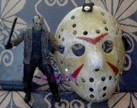 jason the whole network retro finishing  mask almiscar HOCKEY HALLOWEEN Jason Voorhees masque masquerade vintage style free ship