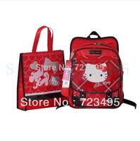 2013 Korea counters authentic original single hello Kitty girls backpacks, a primary school pupil's school bag shoulders bag