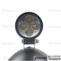 12W DHL Free Shipping 1Year Warranty IP67 Led Work Light Cree Led New 1Year Warranty For Tractor Flood Beam Black free shipping
