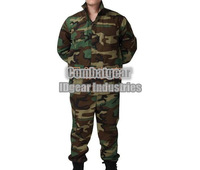 Emerson Woodland BDU Combat Uniform military army suit camouflage shirt & pants woodland FED