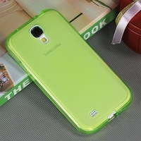 New Arrive Candy TPU Case for Samsung Galaxy S4 Silicon Clear Soft Case fir S4 Case i9500 8 colors