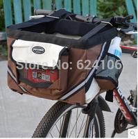 New Arrivals Top Quality Pet Bicycle Basket Convenient Bicycle Dog Carrier Pet Travel Carrier Pet Bag