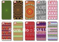 10pcs/lot New Aztec Tribal Pattern Retro Vintage style hard back case cover for iphone 5 5G 5TH  free shipping