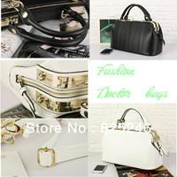 2013 New Arrivals Designer Famous Brand Women Messenger Bag Vintage Hobo CROCO Doctor Handbag High Quality Leather Clutches Bags