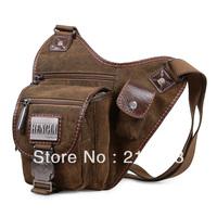 Henry canvas shoulder bag male messenger bag man bag  casual mobile phone bag