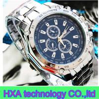 Cheap Price Fashion Jewelry  three eyes Quartz Wrist Watches For Men/gentelmen Authentic Brand New With Free Shipping
