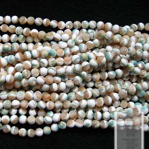 DIY natural crystal beaded deep emerald beads scattered semi- wholesale Tridacna(China (Mainland))