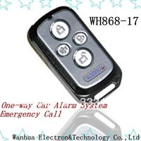 Hot Sale Car Alarm System one-way Car Alarm Security System Free Shipping
