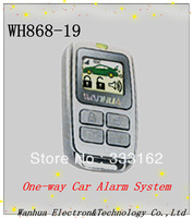 Free Shipping Hot Sale Car Alarm System one-way Car Alarm Security System with Remote Controller