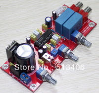 LM1036 HiFi Stereo Audio Power Amplifier Volume Tone EQ Tweeter Bass volume adjust Kit Assembled AMP board