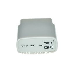Free shipping for 2013 Vgate WIFI ELM327 WIFI OBD II code reader interface wi-fi elm 327(China (Mainland))