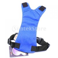 Free Shipping Blue Universal Fit Car Vehicle Dog Pet Seat Safety Belt Harness