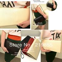 new 2013 Top quality fashion crocodile pattern evening bags women's handbag  shoulder & clutch chain women messenger bag
