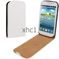 Good Quality Up and Down Leather Case for Samsung Galaxy Grand Duos i9082 Support Big Order