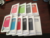 Direct Marketing Battery Housing Case flip leather case original back cover  for samsung galaxy siv s4 i9500 9500
