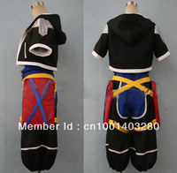 Kingdom hearts sora Cosplay Costume free shipping