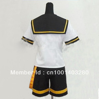 Vocaloid 2 Len Kagamine cosplay costume free shipping