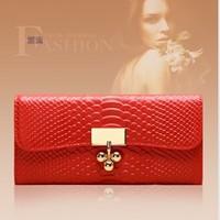 free shipping new style women emboss wallet, women split leather wallet,lady genuine leather wallet for gift