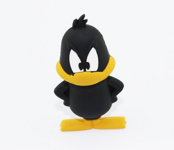 Duck shape usb flash disk drive memory 4GB 8GB 16GB 32GB Free Shipping(China (Mainland))