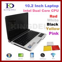 New 10.2 inch Mini laptop Computer with Intel Atom D2500 1.86Ghz Dual Core, 4GB RAM, 320GB HDD, WiFi, Webcam