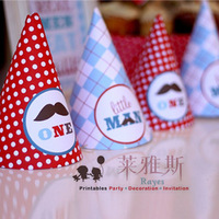 free shipping Party supplies party hats birthday hat trigonometric cap paper hat p3
