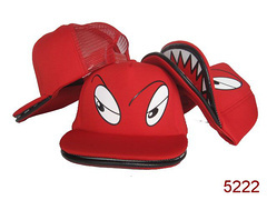 2013 New Style!!! Free Shipping!!! Big Mouth Cartoon Mesh Cap, Double Visor, Double Brim Street Fashion Caps! Sports Cap