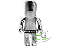 Imitation people / Robot  Metal Usb Flash  memory Disk  Drive Usb 2.0 1GB 2GB 4GB 8GB 16GB