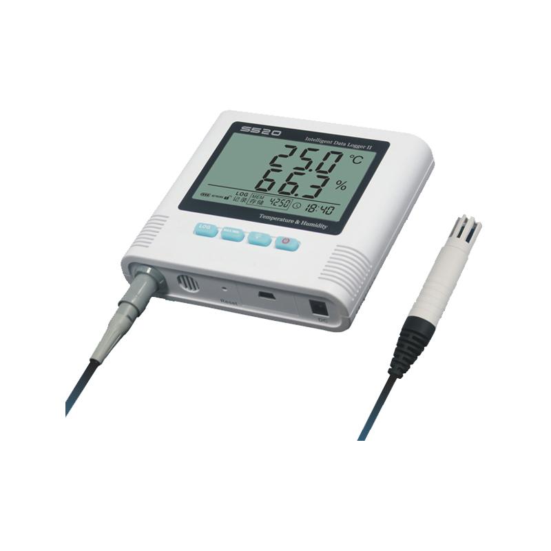 S500 GSM alarm temperature and humidity data logger Desktop and wall-mounted High accuracy Temp & Humi Data Logger(China (Mainland))