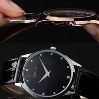2014 HOT SELL SINOBI 9141 Brand Leather Strap Watch for Mens Man Fashion Style Quartz Military Waterproof Wristwatch wholesale