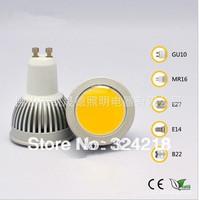 5W 7W GU10 COB LED Spot Light Spotlight Bulb Lamp High power lamp 85-265V Warranty 3 years CE ROHS,free shipping